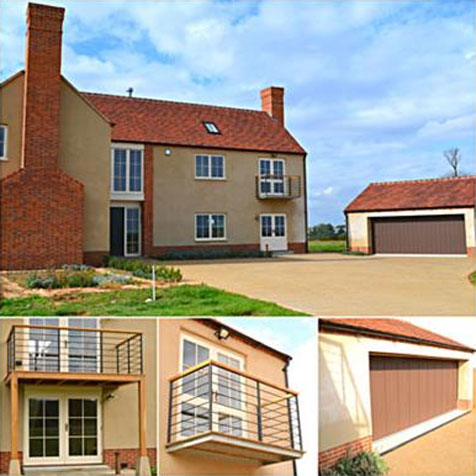 New build, based Pointon, Lincolnshire.